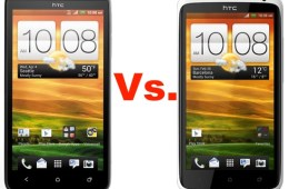HTC EVO 4G LTE vs. HTC One X