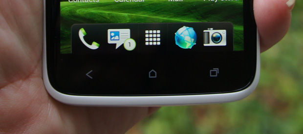 HTC One X Buttons Under Display