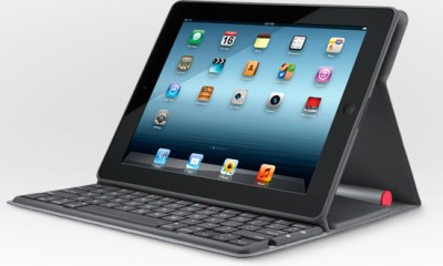 Logitech Solar-powered iPad Keyboard Nevers Needs Charging