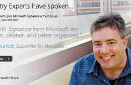 Microsoft Signature