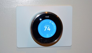 Nest Learning Thermostat Installed