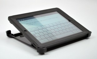 New iPad OtterBox Defender Case Review - typing