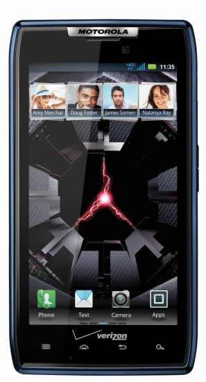 Blue Motorola Droid RAZR Launches on Verizon