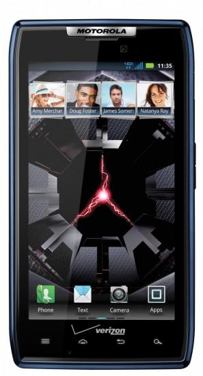 Blue Motorola Droid RAZR Launches on Verizon