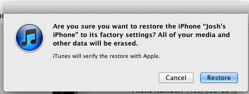how to fix iPhone 4s jailbreak errors step 3