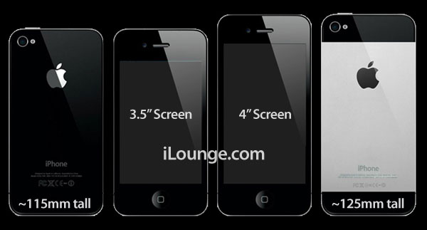 iPhone 5 4-inch metal back design
