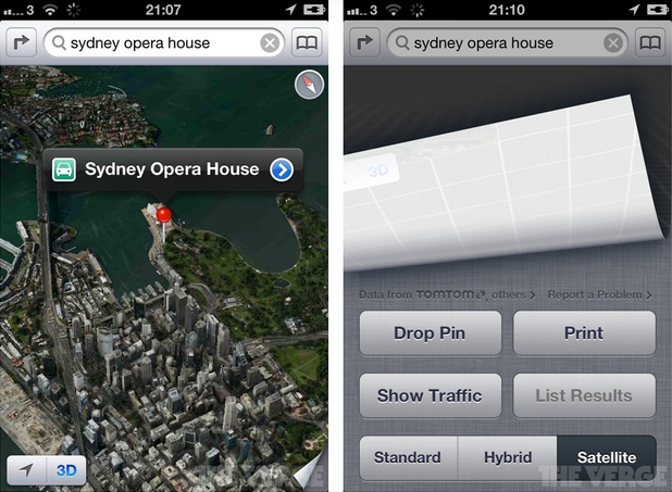 Apple Maps Replaces Google With TomTom, OpenStreetMaps and