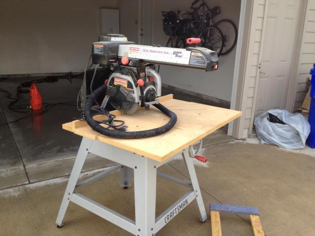 Craftsman Radial Saw