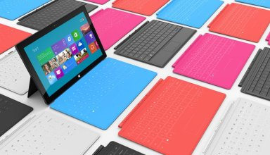 Microsoft Surface Touch Cover Gallery