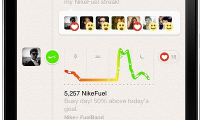 Path Nike+ FuelBand