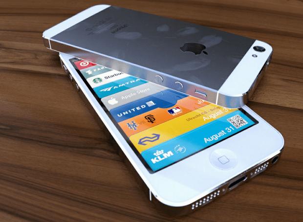 White iPhone 5 photo