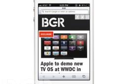 iOS 6 mockup