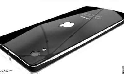 What a Liquidmetal iPhone 5 might look like.