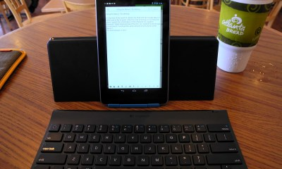nexus 7 on logitech android keyboard