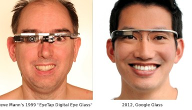 Eye Tap Google Glass