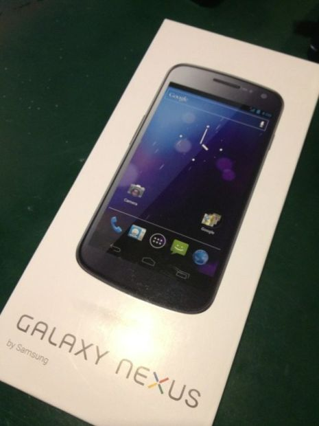 Galaxy Nexus Jelly Bean