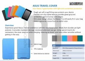 Nexus 7 Travel Cover