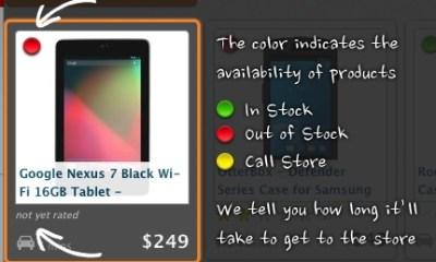 Nexus 7 in Stock