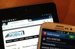 Nexus 7 mobile hotspot