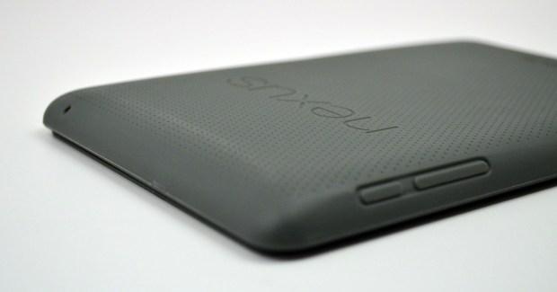 Official Nexus 7 Case Review - buttons