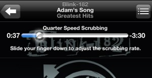 Quarter Speed Scrubbing