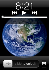 Home Screen Music Controls
