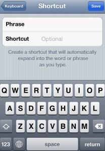 Make Shortcut