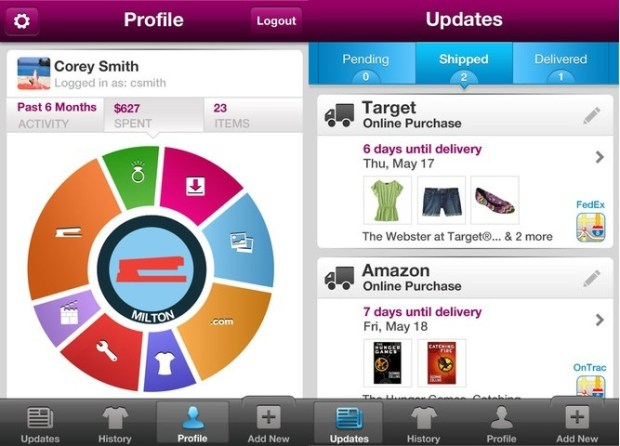 Slice 2.0 for iPhone personal finance
