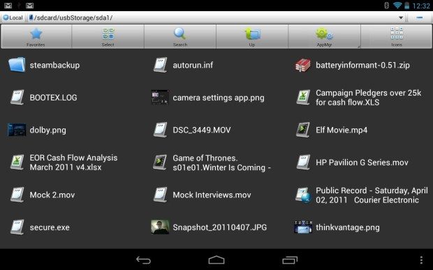 USB Drive Nexus 7