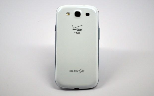 Verizon Galaxy S III Rear