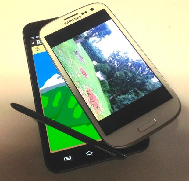 Samsung Galaxy Note v Galaxy S III