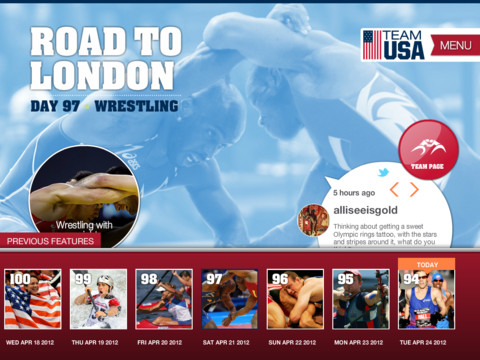 official usa olympic team app