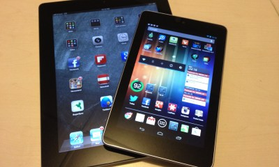 Apple iPad versus Google Nexus 7