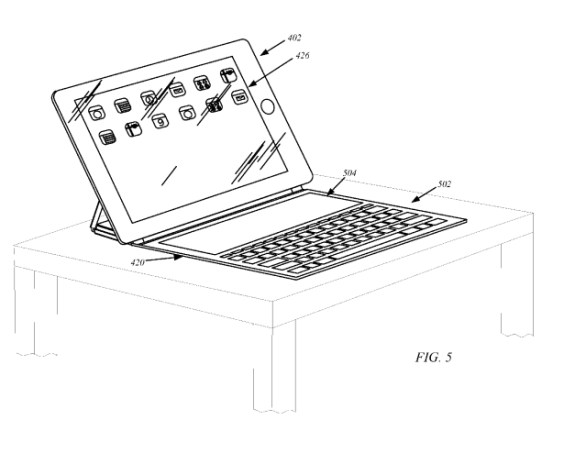 Apple iPad Smart Cover with Flexible Display patent