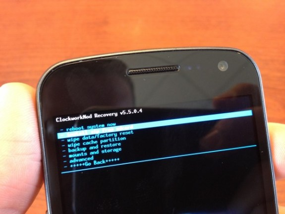 Install Jelly Bean Android 4.1 on Verizon Galaxy Nexus