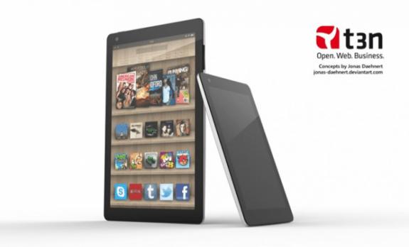 Kindle Fire 2 Render