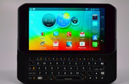 Motorola Photon Q 4G LTE Review - keyboard hero