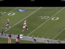 NFL Preseason Live Review iPad - Action