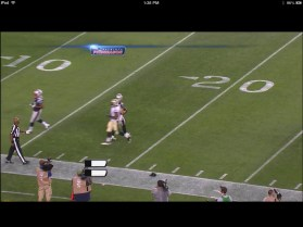NFL Preseason Live Review iPad - Action