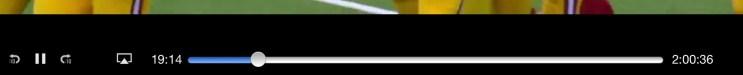 NFL Preseason Live Review iPad - DVR Controls