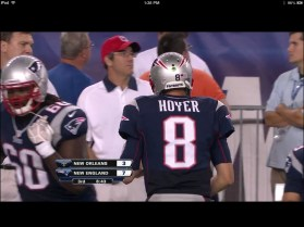 NFL Preseason Live Review iPad - QB