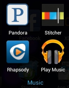 Nexus 7 Apps - Music