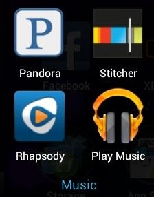 Nexus 7 Apps - Music