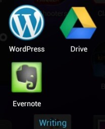 Nexus 7 Apps - Writing and Notes