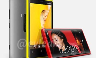 Nokia Lumia 920 with PureView leak