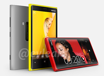 Nokia Lumia 920 with PureView leak
