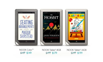 Nook Tablet price cuts