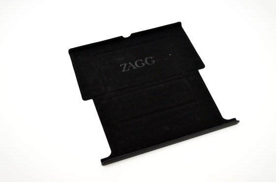 Zagg Flex Keyboard Review - Nexus 7 stand flat