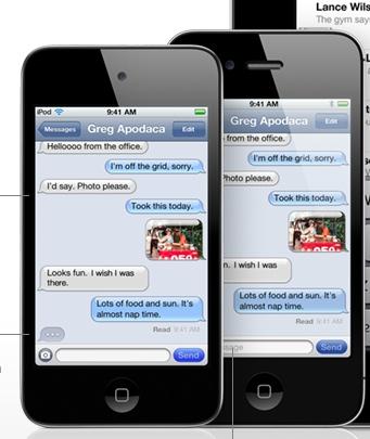 iMessage iPhone iOS 5