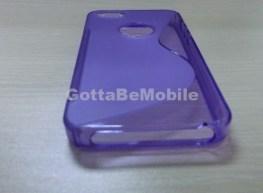 iPhone 5 Case TPU Purple Dock